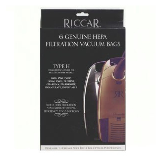 Riccar Type H  Canister Bags