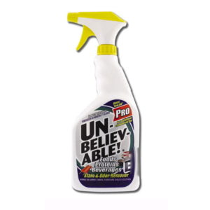 Unbelievable Pro Stain and Odor Remover