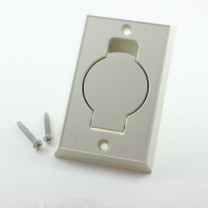 Central Vacuum Inlet Valve Ivory
