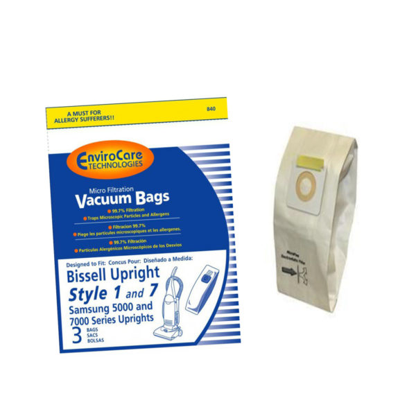 Bissell Upright Vacuum Bags – Style 7