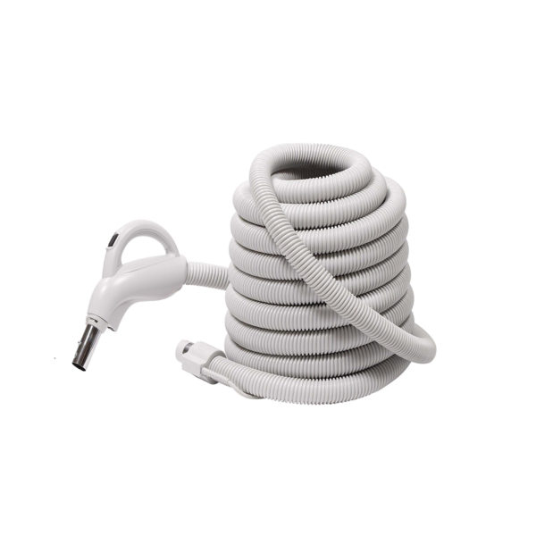 central vacuum hose  u2013 35 u2032 with 3-way on  off switch