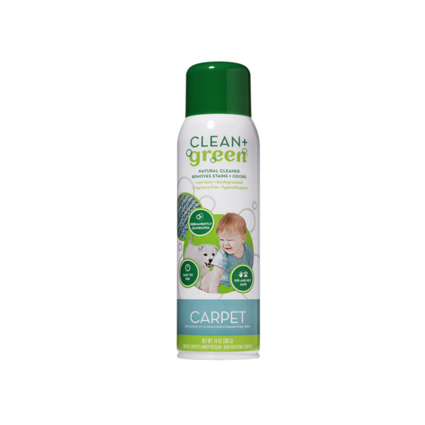 Clean+Green Carpet & Upholstery Cleaner - Cardy Vacuum