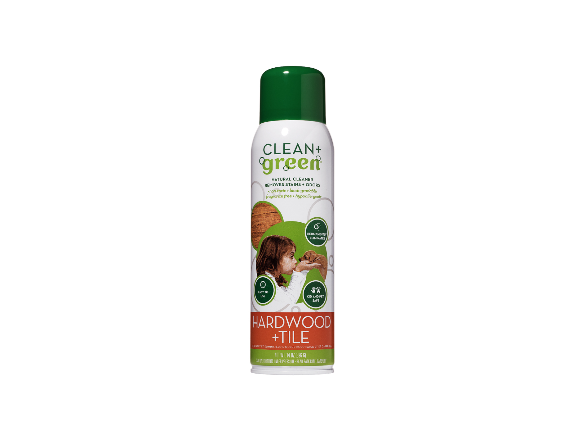 Clean+Green Hardwood & Tile Cleaner - Cardy Vacuum