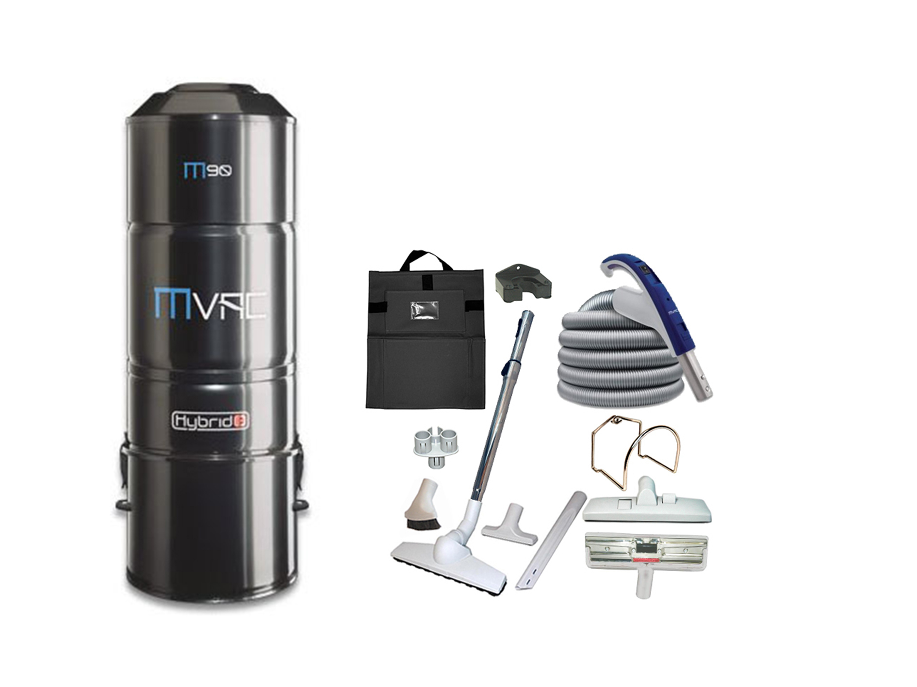 Mvac M90 Deluxe Bare Floor Package Cardy Vacuum