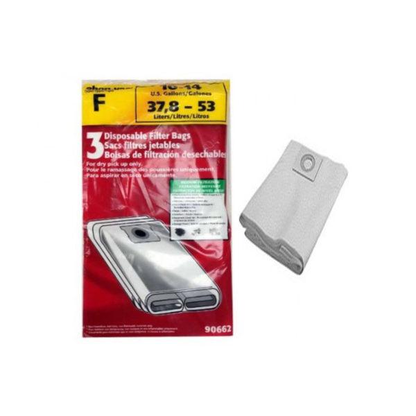 Shop Vac 10 – 14 Gallon (37.8 – 53L) Collector Bags