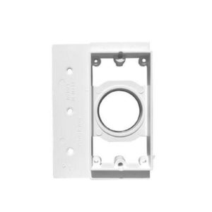 Central Vacuum Inlet Mounting Plate