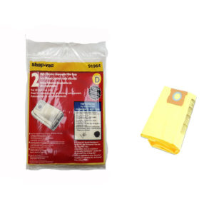 Shop Vac FloorMaster 4 Gallon High Efficiency Bags