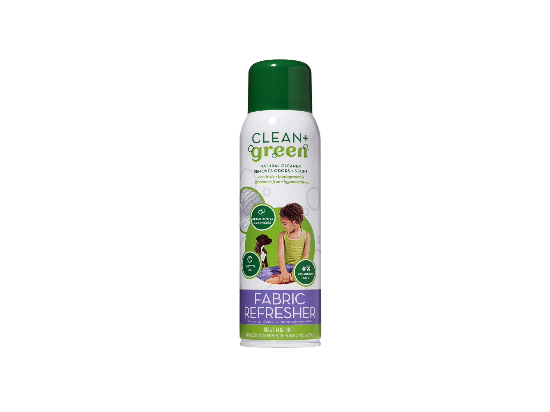 Clean Green Fabric Refresher Cardy Vacuum