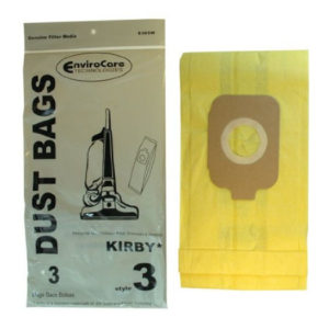 Kirby Upright Style 3 Generation Vacuum Bags