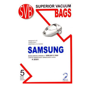 Samsung 5500, 6313, 7000 Series Canister Vacuum Bags