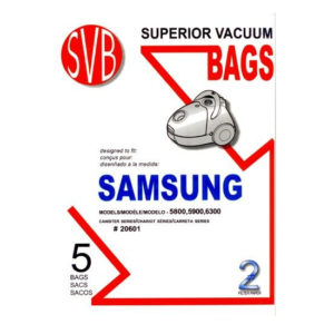 Samsung 5800, 5900, 6300 Series Canister Vacuum Bags