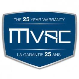 mvac 25 yr warranty